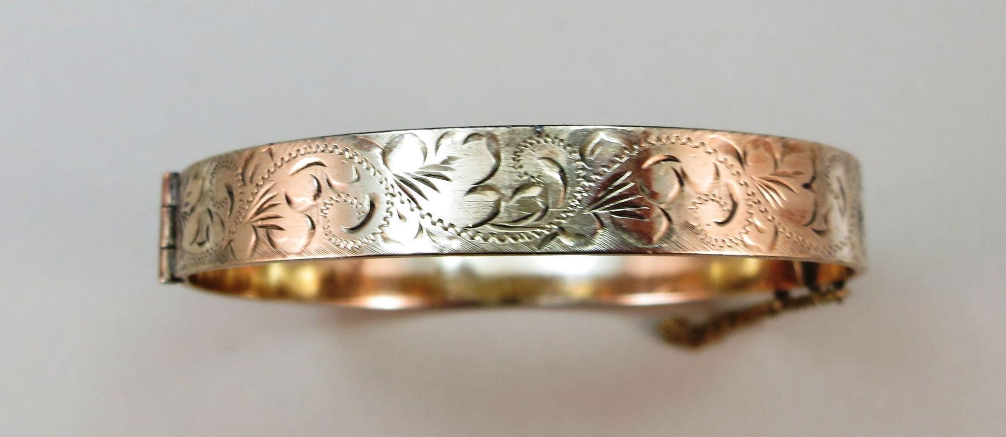 VINTAGE  9 Ct Rolled Gold Bracelet