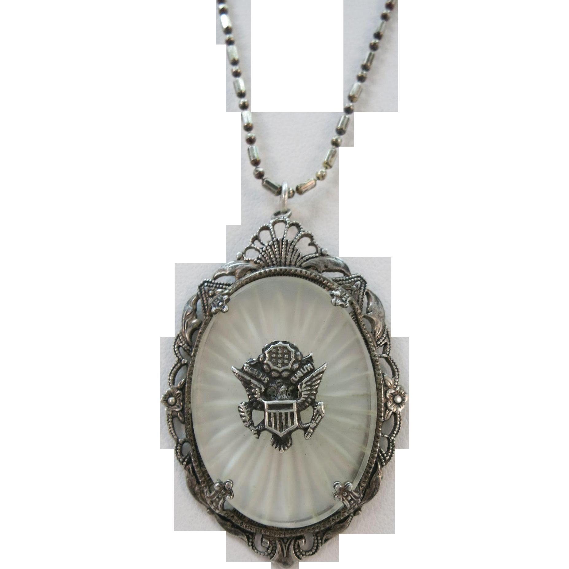 vintage world war ii sweetheart jewelry sterling army