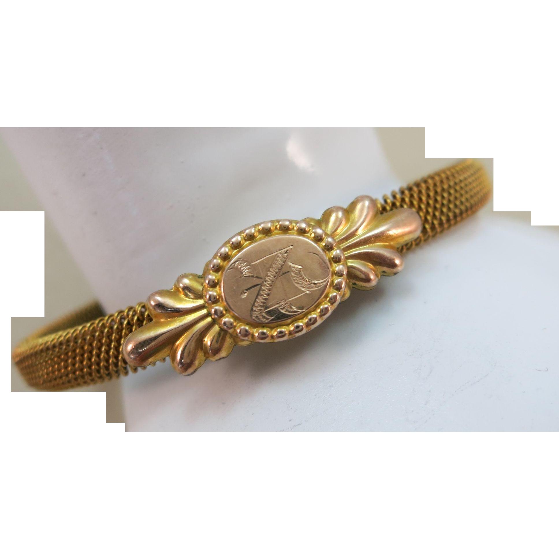 VINTAGE Victorian Wedding Bracelet pre 1900