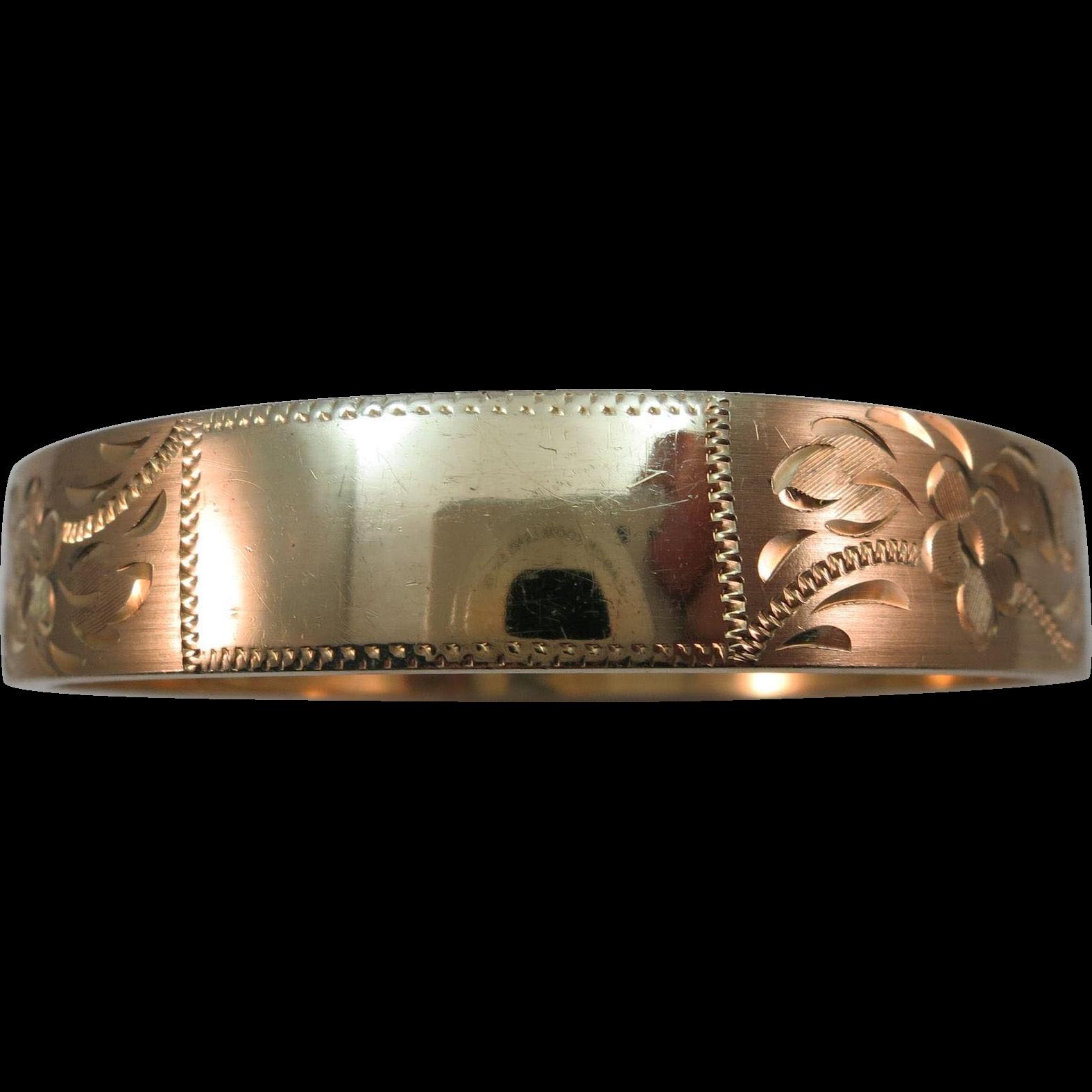 VINTAGE  Gold Filled Bracelet Old but not Worn  70's