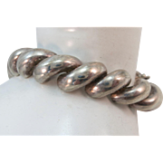 VINTAGE Sterling San Marco Bracelet  7 Inches  Made in Italy