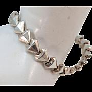 VINTAGE Sterling Bracelet 7 inches