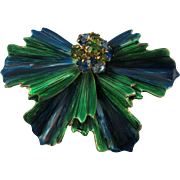 VINTAGE  Colorful Weiss Brooch