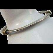 VINTAGE Mexican Silver Bracelet Signed Tested Sterling Stacker Bracelet