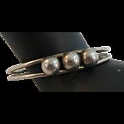 VINTAGE Sterling Cuff Bracelet Lovely