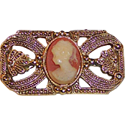 1928 Jewelry Co. Cameo Bar Pin