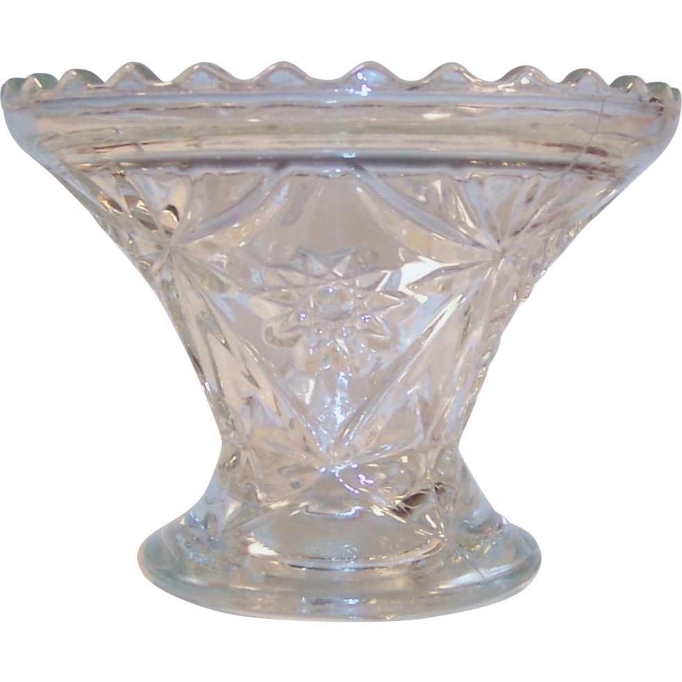 EAPC Star of David Vase / Cake Plate Base