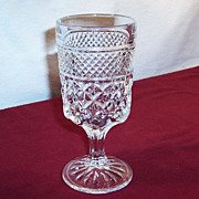 Tall Footed Wexford Water Goblet