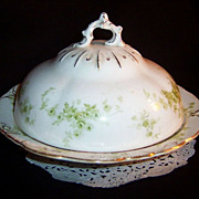 Alfred Meakin Windermere Round Covered Butter Dish