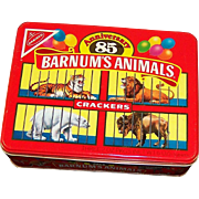 Barnum's Animals Crackers 85th Anniversary  Cookie Tin