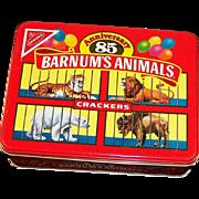 Barnum's Animals Crackers 85th Anniversary  Cookie Tin