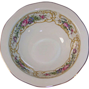"Baronet China: ""Plaza"" Rimmed Cereal Bowl 6 1/4"""