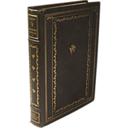 SELECTED WRITINGS by Sir Francis Bacon --   The Franklin Library Collection
