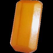 Butterscotch Art Deco Dress or Fur Clip