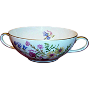 "Bavarian Baronet China; ""Elena"" Cream Soup Bowl"