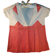 Retro 1950's Child Size Dress Clothes Pin Storage Bag