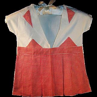 Retro 1950's Child Size Dress Clothes Pin Storage Bag