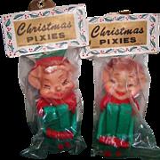 Vintage Pixie Elves New in Package
