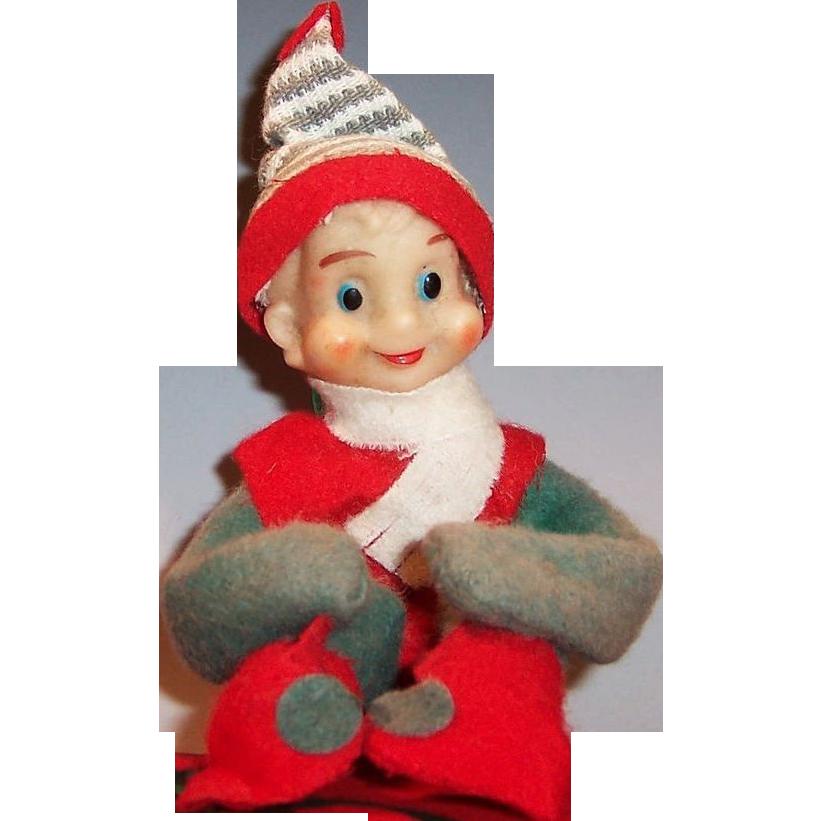 Vintage Knee Hugger Elf Noel Japan
