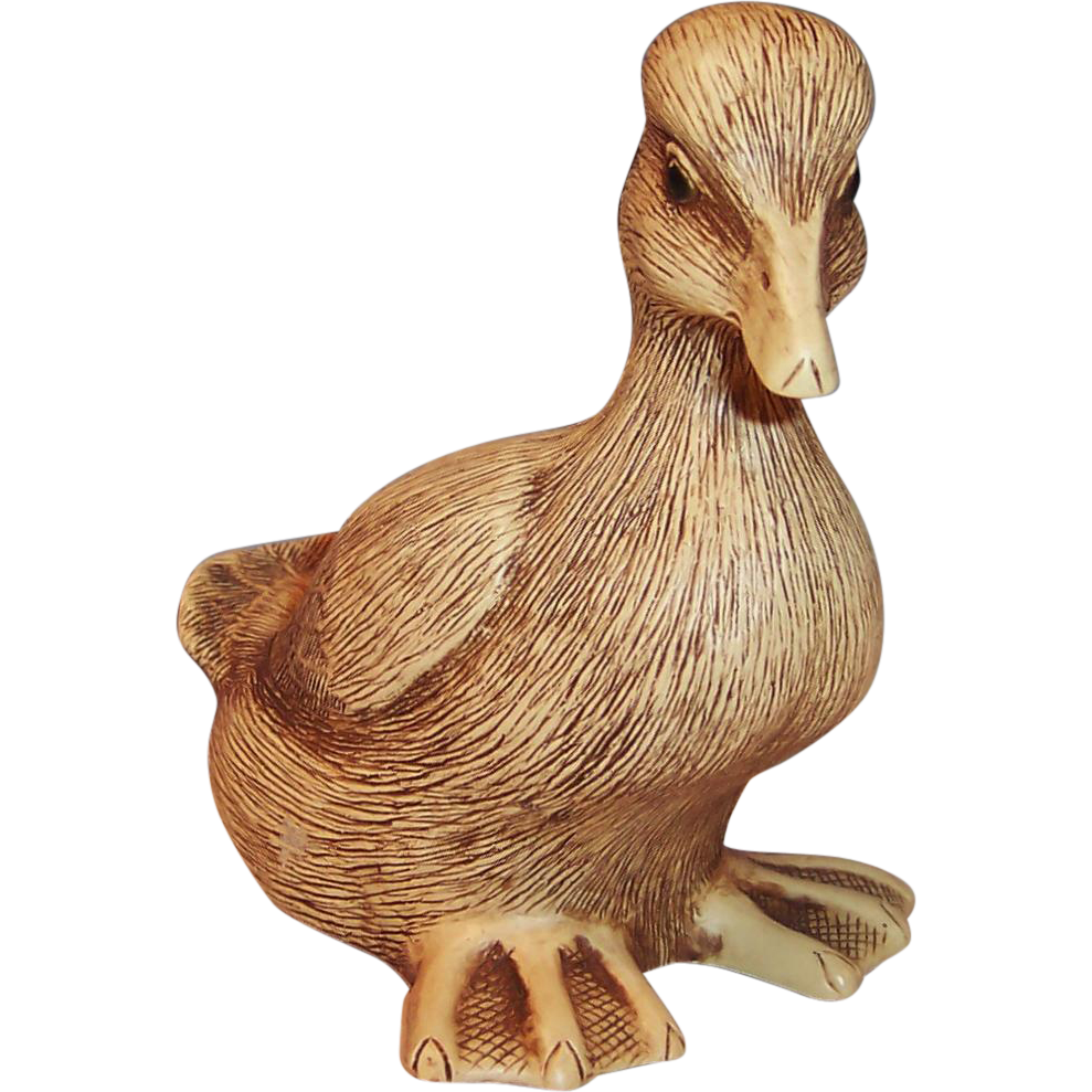 Vintage Vincent Giannetto Farm Pond Puddlers: Baby Duck Joshua