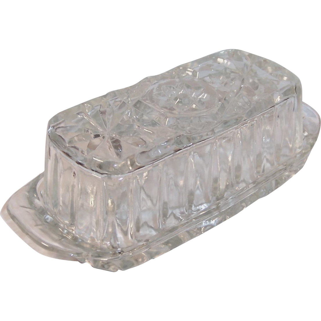 Early American Prescut (EAPC) Covered Butter Dish