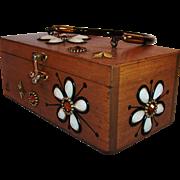 1960's Vintage Original Enid Collins Box Purse