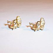 Elephant Lapel Tack Pins