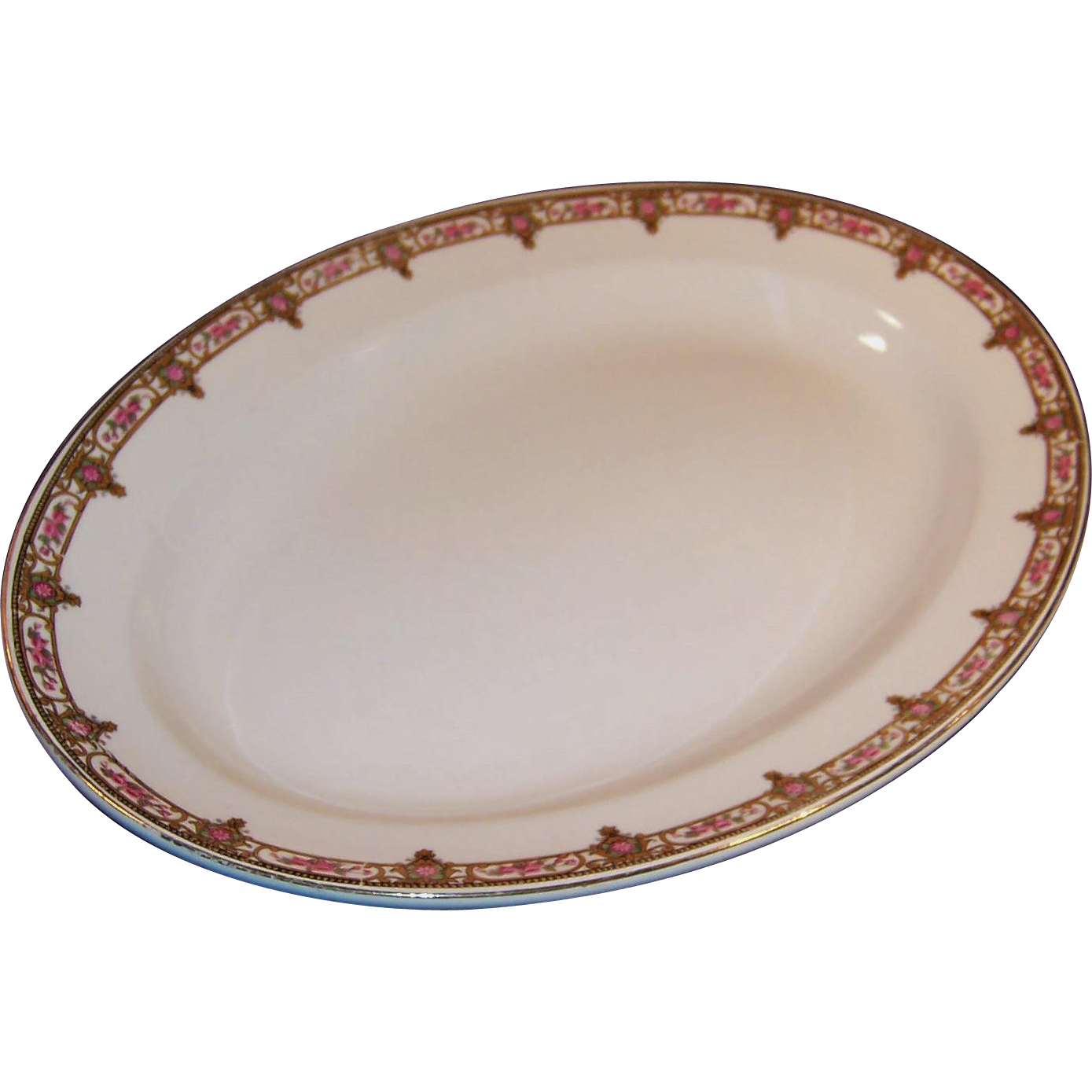 "W. H. Grindley Normandie 13 1/2"" Platter"
