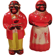 "5"" Tall Aunt Jemima & Uncle Mose F&F Mold & Die Works"