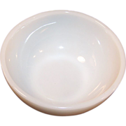 "Anchor Hocking Fire King White 5"" Chili Bowl"