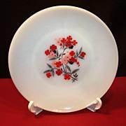 """Fire King Primrose 9"""" Dinner Plate"""