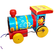 Fisher Price Whistling Engine # 617
