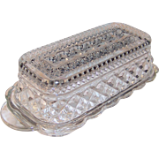 Anchor Hocking Wexford Covered Butter Dish