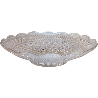 Large Anchor Hocking WEXFORD Scalloped Edge Bowl