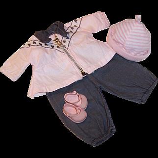 Original Vogue Baby Ginnette or Ginny Doll Snow Ski Suit