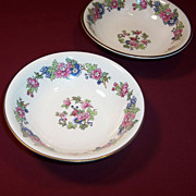 1940's Homer Laughlin Bristol  Fruit  Dessert  Bowl (ONE LEFT)