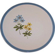 Homer Laughlin Harmony BLUE DUCHESS Bread Plate