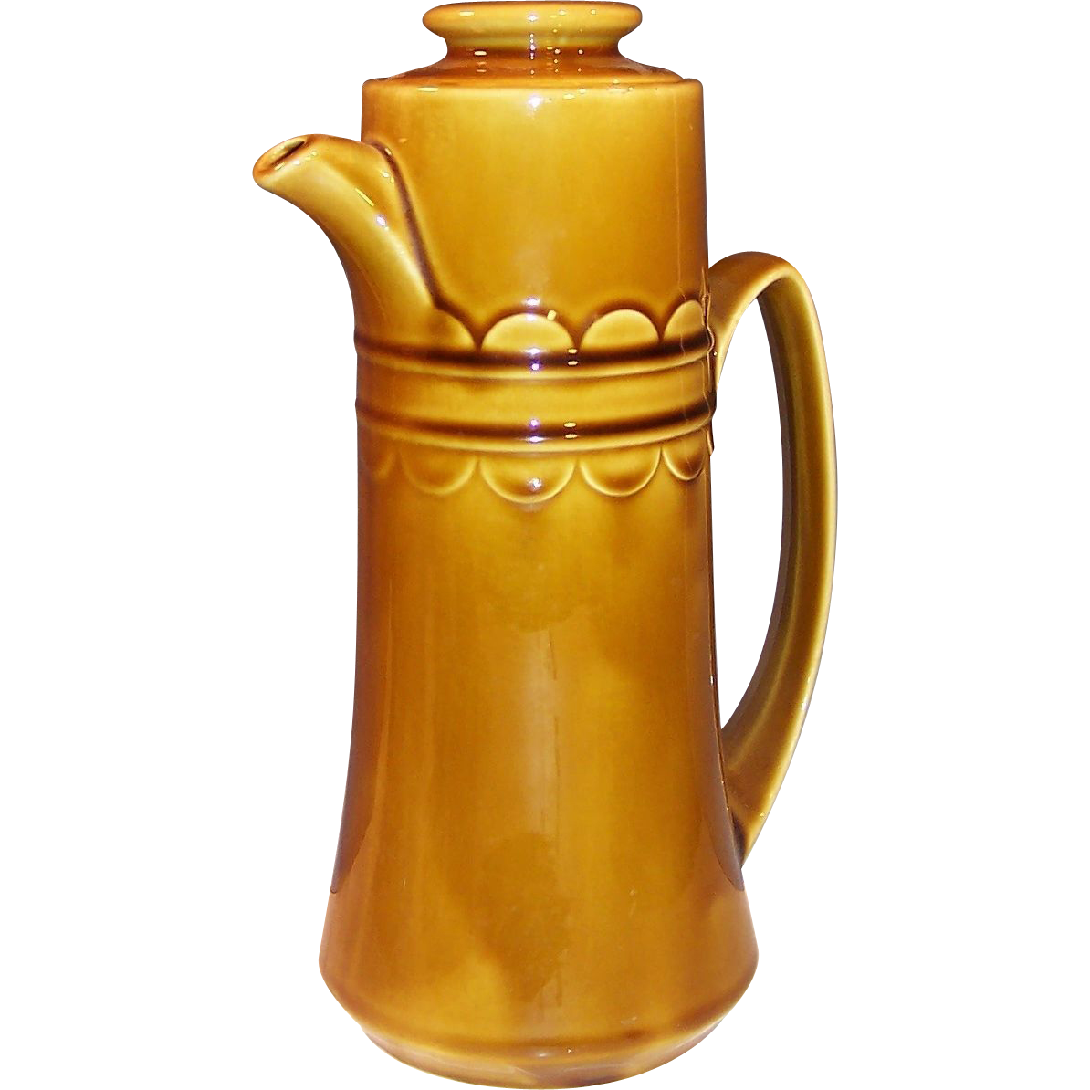 1960's Granada Coventry Castilian Harvest Gold Coffee Pot
