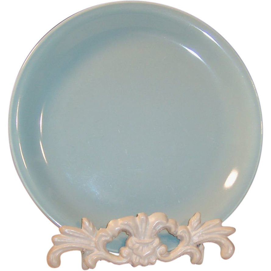 "7"" Homer Laughlin Jubilee Salad Plate Celadon Green"