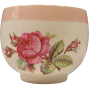 Homer Laughlin Swing Moss Rose Demitasse Open Sugar