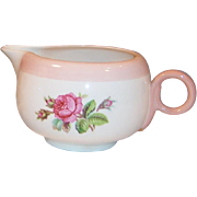 Homer Laughlin Moss Rose Swing Creamer