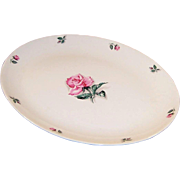 LARGE Homer Laughlin China Rhythm Rose Turkey Platter