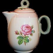 1939 Homer Laughlin Moss Rose Individual or Demitasse Coffee / Tea Pot (#1)