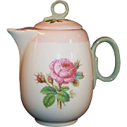 1939 Homer Laughlin Moss Rose Individual or Demitasse Coffee / Tea Pot (#1)