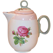 1939 Homer Laughlin Moss Rose Individual or Demitasse Coffee / Tea Pot (#2)