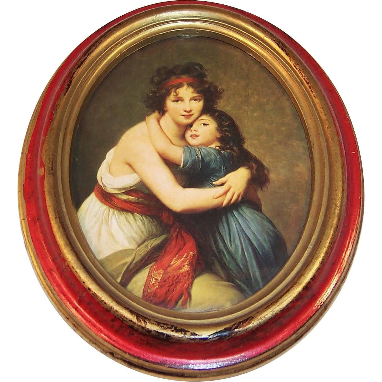 Madame Vigee Lebrun & Daughter Self Portrait