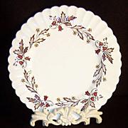 "J & G Meakin Hampton Court 8"" Plates"