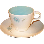 Taylor Smith Taylor Boutonniere Cup & Saucer