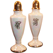 Kass U.S.A. Iridescent Luster Salt & Pepper Shakers