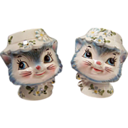 "Vintage Lefton ""Miss Priss"" Kitty Cat Shakers"